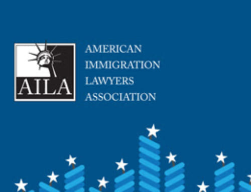 "Congratulations to David Enterline – 25 years as an American Immigration Lawyers Association (""AILA"") Member"